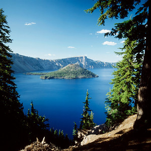 Wizard Island, Crater Lake NP,