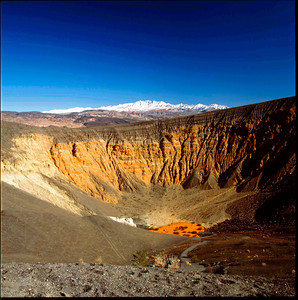 Ubhebe Crater, Funeral Mountains, Death Valley NP, California