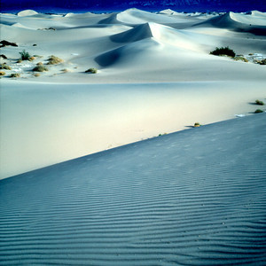 Blue Sand Dunes, Death Valley NP, California