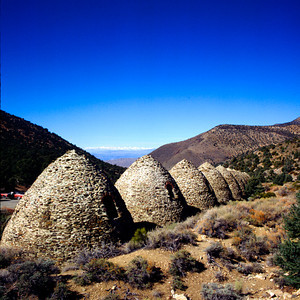 Charcoal Kilns, Panamint Mountains, Death Valley NP, California