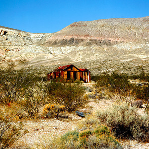Gohst Building,Death Valley NP, California