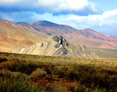 Striped Butte, Death Valley NP, California