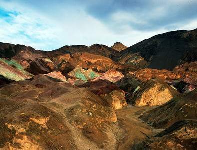 Artists Palate, Death Valley NP, California