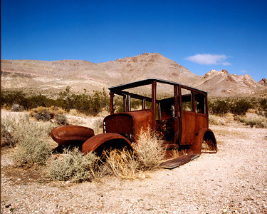 Abandoned Auto, Death Valley NP, California