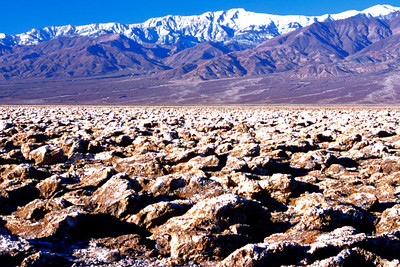 Devil's Golf Course, Death Valley NP, California
