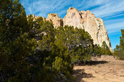 North America, USA, New Mexico, the Scenic Sandstone Bluffs of El Morro National Monument