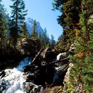 Hidden Falls, Grand Teton NP