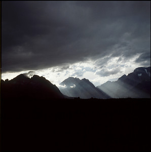 Storm over the Range, Grand Teton NP