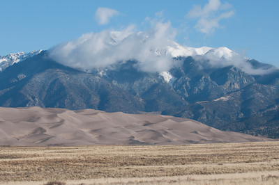 Nobody, North America, USA, Colorado, Great Sand Dunes National Park and Preserve