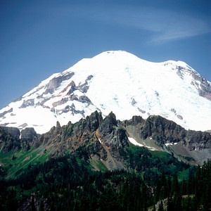 Mount Rainier from the Prow, Mount Rainier NP