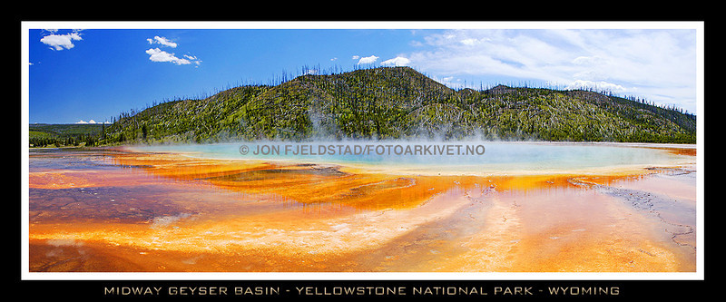 MIDWAY GEYSER BASIN - YELLOWSTONE - WYOMING<br /> DSC_8583-84