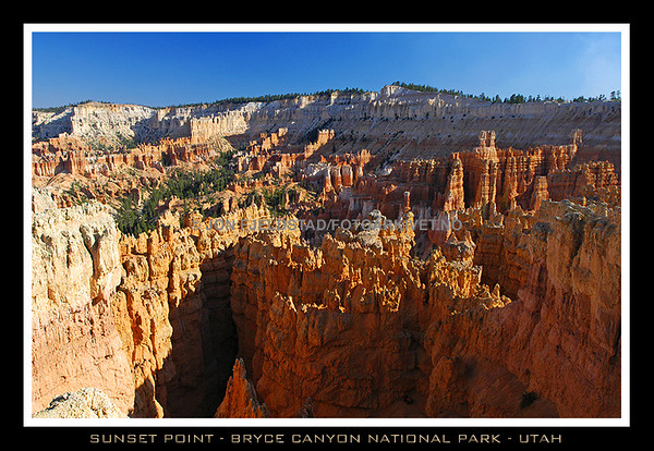 SUNSET POINT - BRYCE CANYON NATIONAL PARK - UTAH