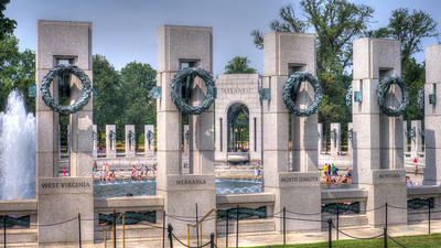 World War II Memorial - HDR Washington D.C.