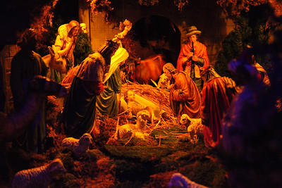 The nativity window display in Lorain is a 94 year old tradition for the Glorioso and Kovach families in Lorain. photo by Ray Riedel