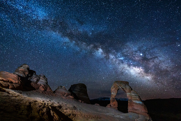 022 - Delicate Arch at 4:00 AM in Early April
