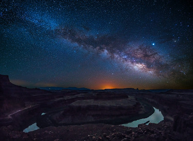 Colorado River Under The Milky Way