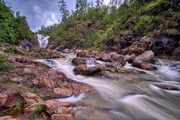 Big Rock Falls, Cayo District, Belize