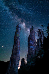 Astro of Totem Pole in Devil's Canyon, Superior, Arizona