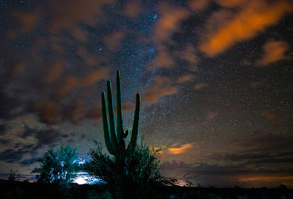Astrophotography over Arizona, Mexico Border