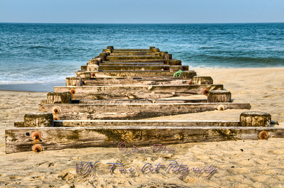 Platform, Long Branch Beach, NJ.