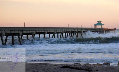 Hurricane Sandy, Deerfield Beach Pier