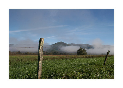 October 24, 2009 Cades Cove Tennessee Photography By Lloyd R. Kenney III (C) 2009 All Rights Reserved