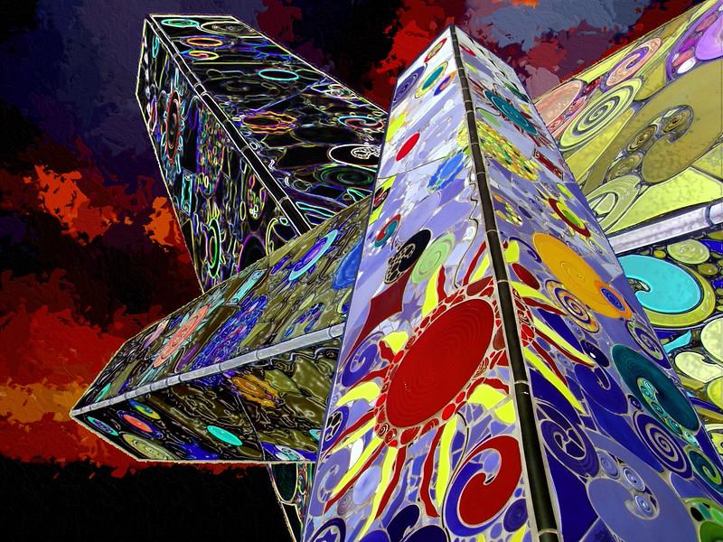 ART - 2005-03-26-Three Towers-2001