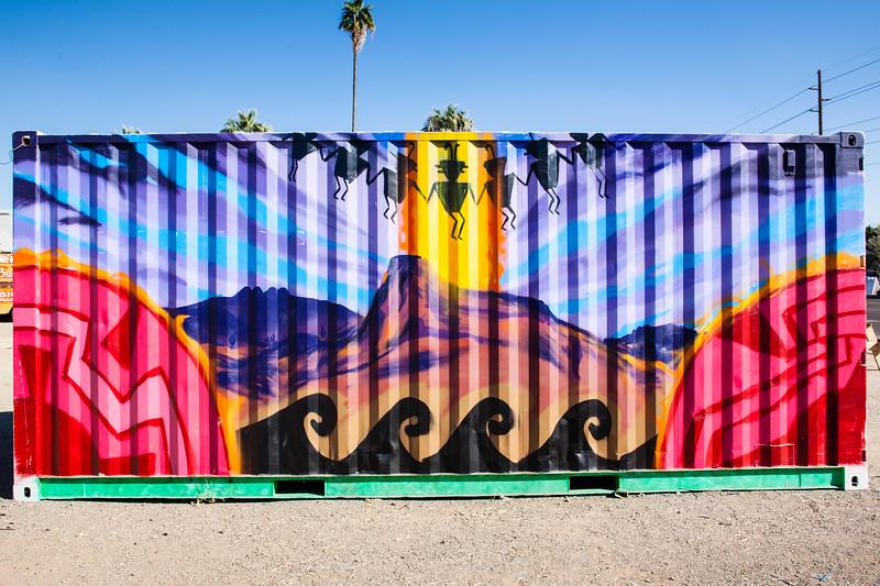 Colorful Objects and Art Phoenix, AZ-2014-01-26-135