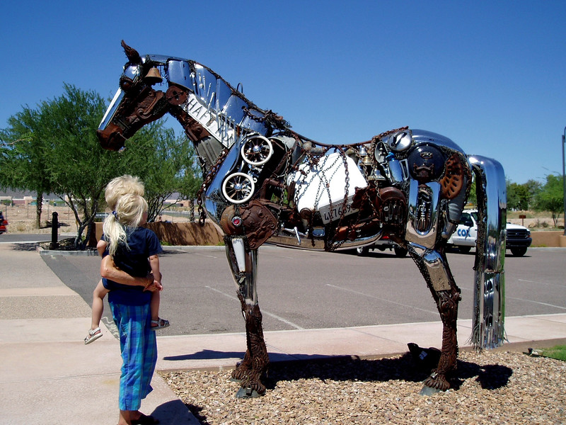 Horse-2004-08-29-0001<br /> Located in Fountain Hill, AZ.