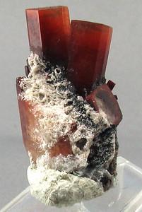Topaz crystal group; 2.3x 1.4x 1 cm (group).