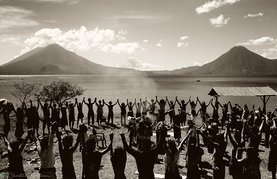 Sacred Ceremony, Lake Atitlan, Guatemala, December 31, 2012