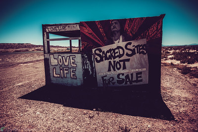 Sacred Sites Not For Sale