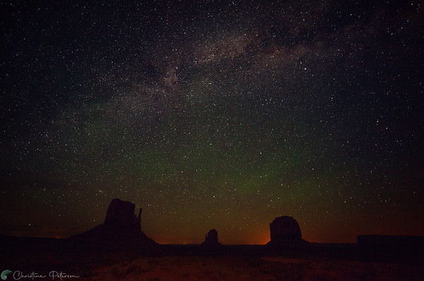 Monument Valley Milky Way