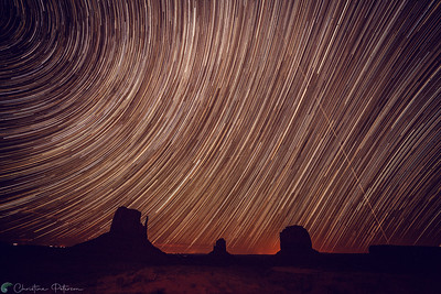 Star Trails, Monument Valley