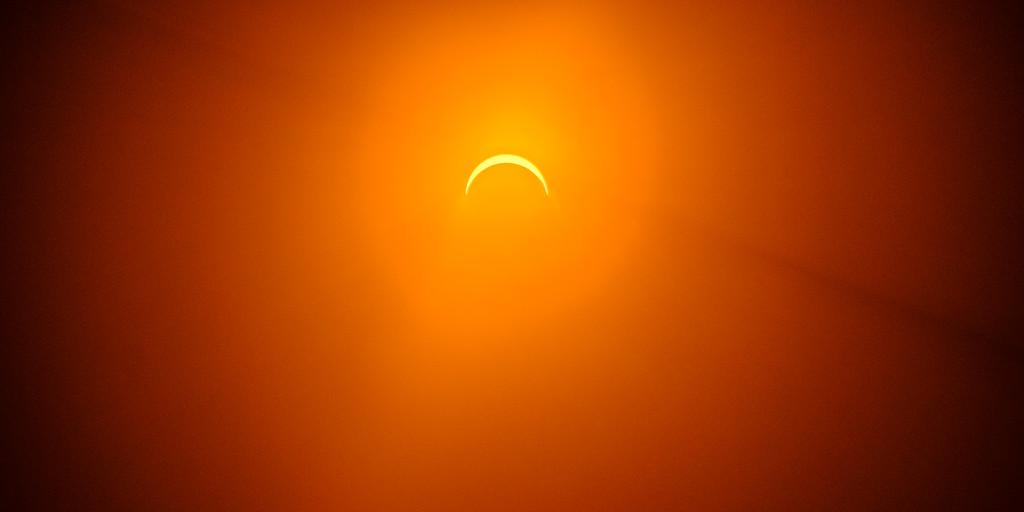 Solar Eclipse 2017 Wide: Olympia, WA