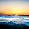 Sunrise over Waynesville