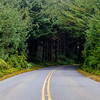 The Road from Cape Blanco Lighthouse