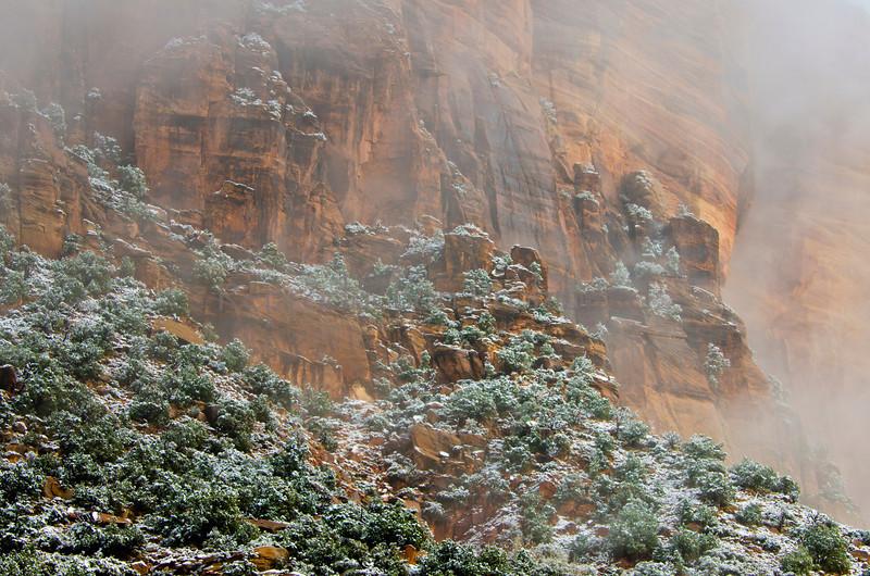 Mistic Zion National Park, Utah December 2012