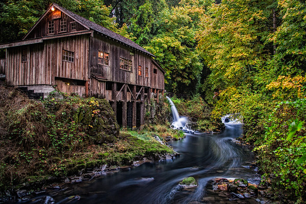 The Cedar Creek Grist Mill