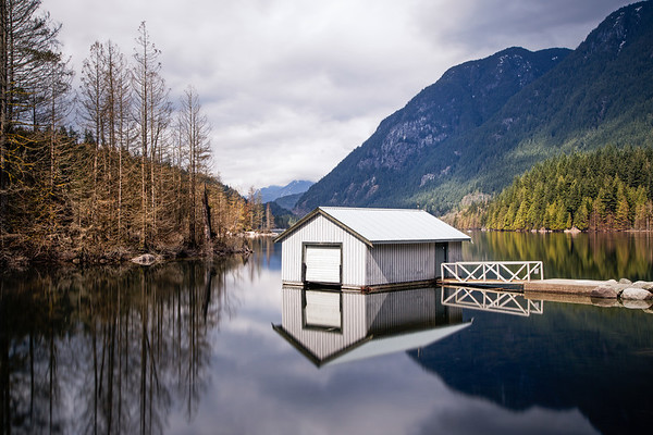 Buntzen Lake Boathouse
