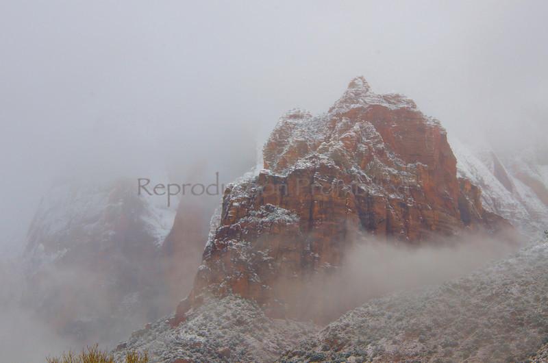 Home of the Druids Zion National Park, Utah December 2012