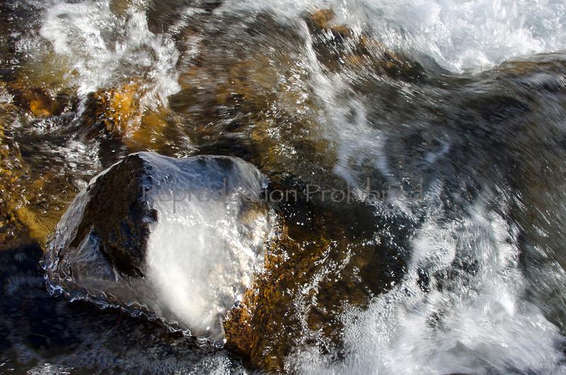 Ice Flow Bishop Creek Eastern Sierra, California December 2012