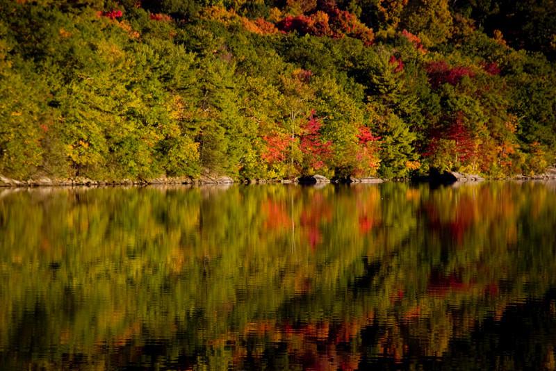 Sunrise on Sterling Lake - polarizer filter rzernitsky