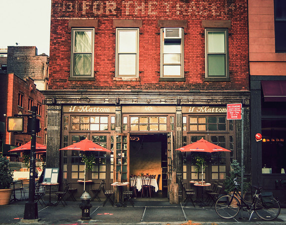 New York City Architecture - Tribeca Cafe