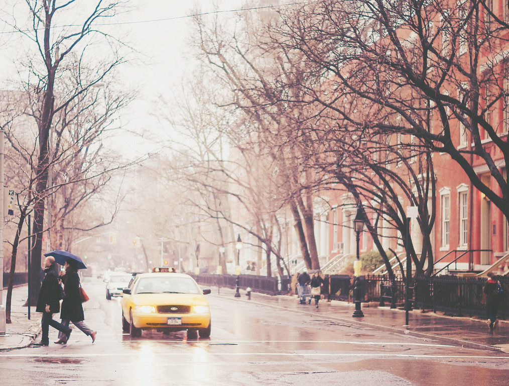 The Color of Rain - Greenwich Village - New York City