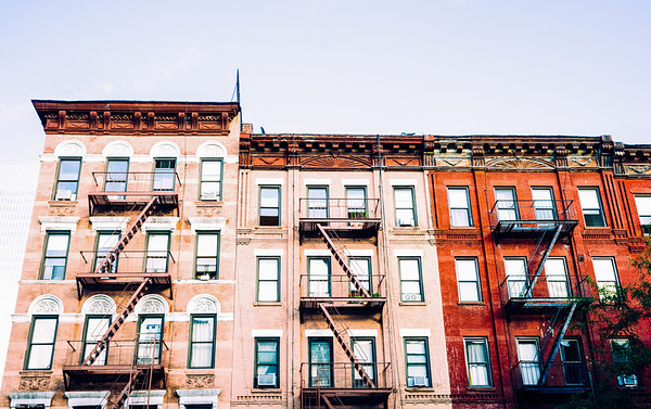 New York City - Hell's Kitchen Architecture