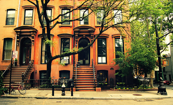 New York City - Brooklyn - Cobble Hill Townhouses
