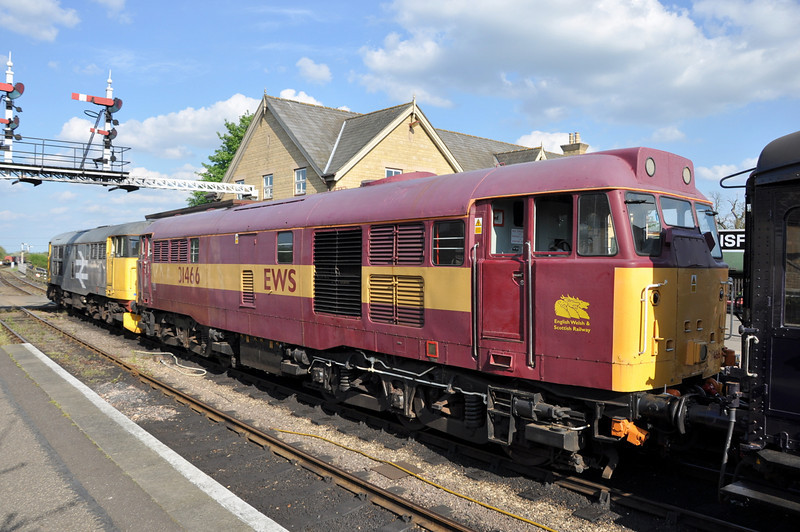 31466 and 31108, Wansford.