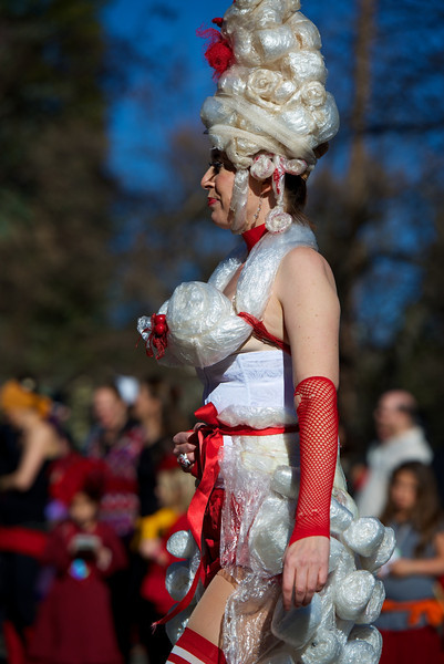 Nevada City Mardi Gras Parade 2013