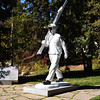 Division Ten Mountain Soldier Statue that Represents the Skiing Soldiers who Helped Win WW II and Founded Vail and Aspen